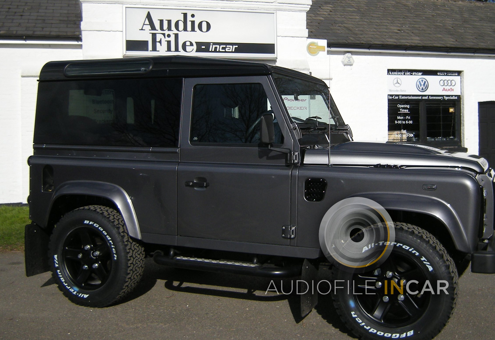 Land Rover Defender Panoramic Glass Conversion