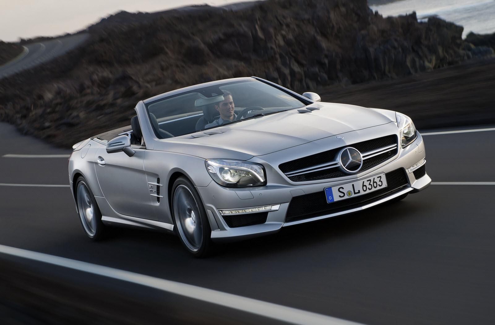 Mercedes SL Audio Upgrades