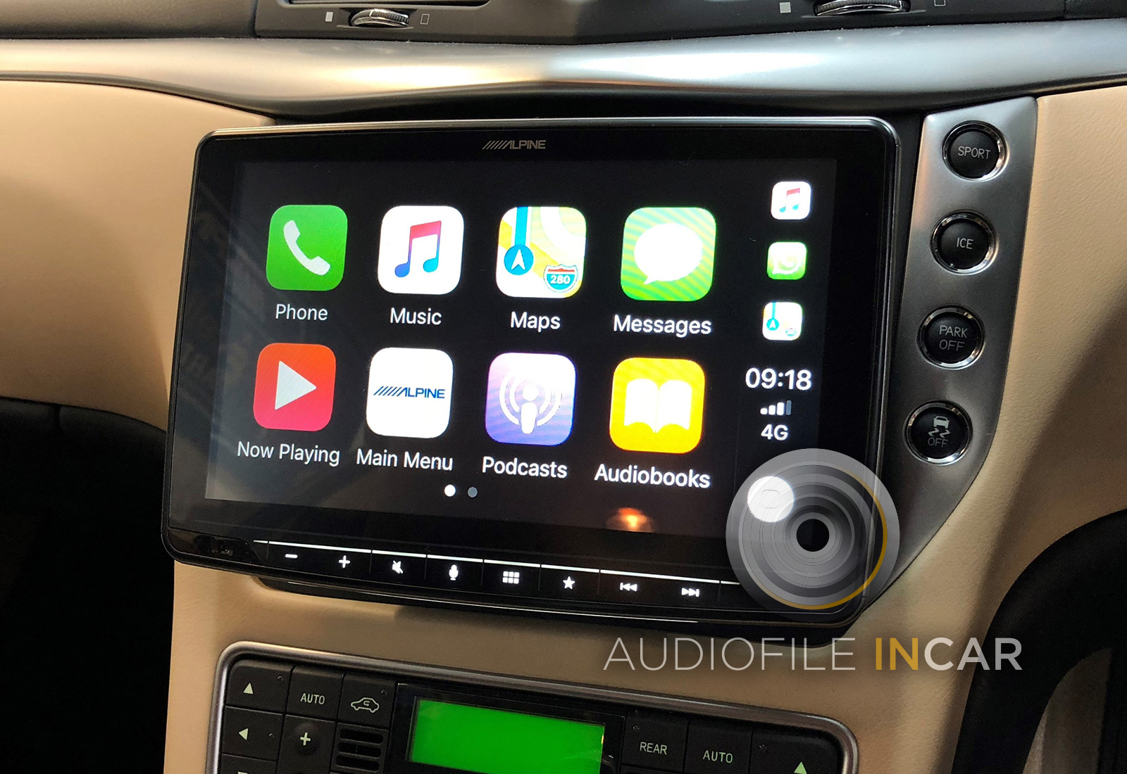 Maserati Granturismo Apple Carplay and Sat-Nav Upgrade