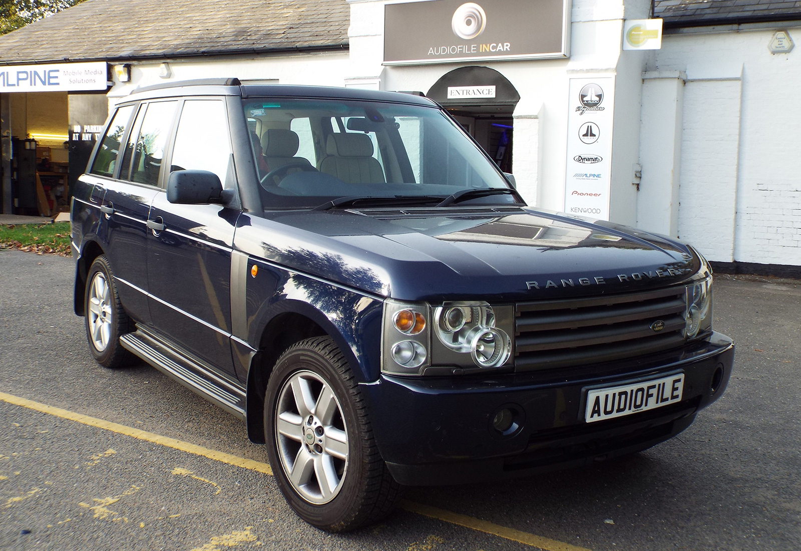 Range Rover L322 Navigation Upgrade