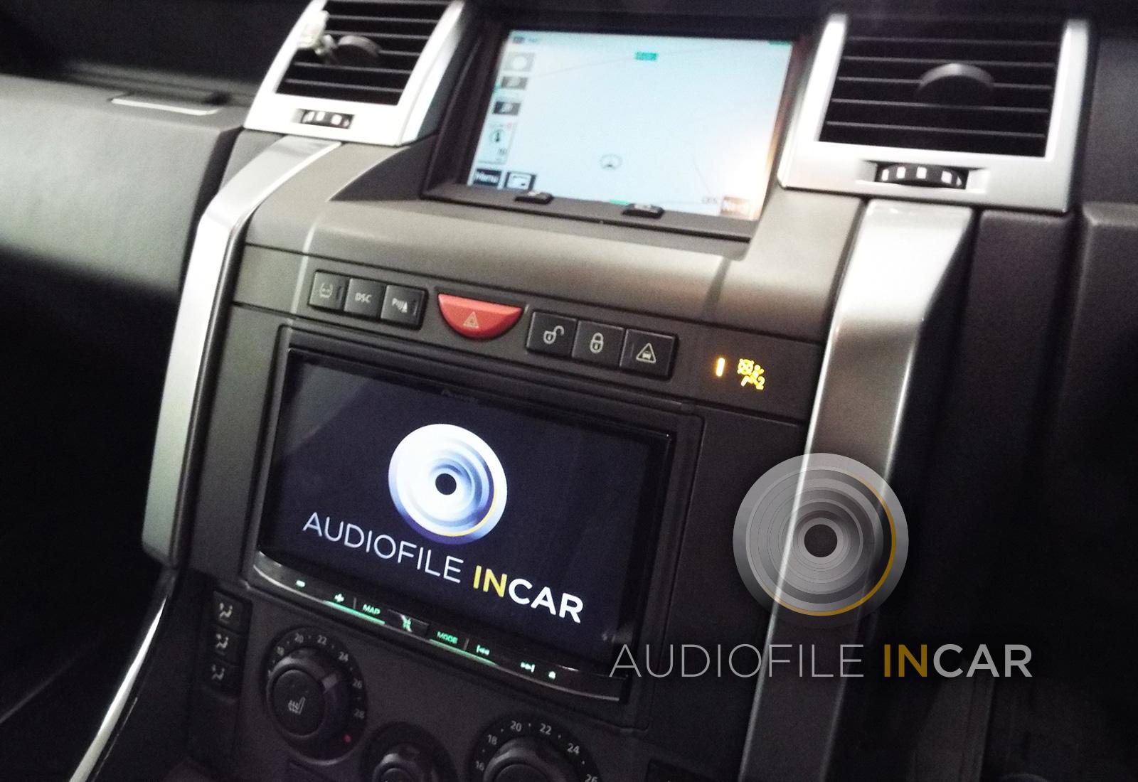 Range Rover Sport Sat Nav Upgrades